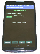 Android phone with SkillShaper